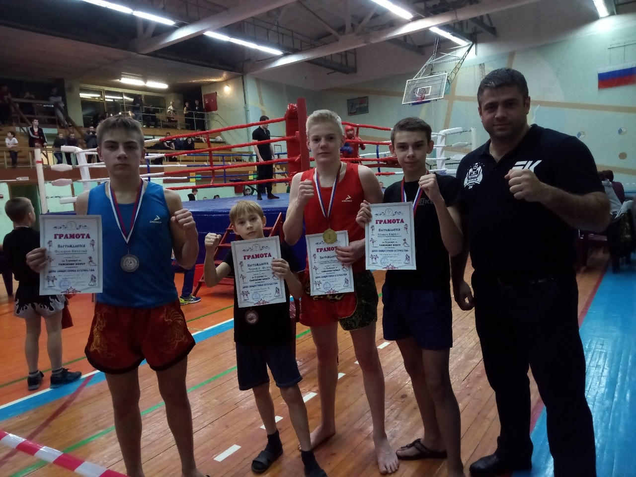 Ивановские спортсмены завоевали 4 медали на турнире, посвященному дню защитника Отечества в г. Тутаев